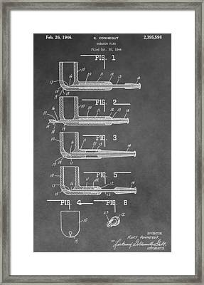 Tobacco Pipe Patent Framed Print by Dan Sproul