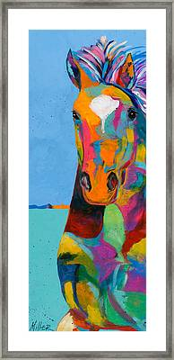 Tobiano Framed Print by Tracy Miller