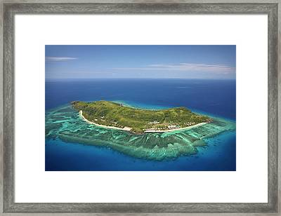 Tokoriki Island, Mamanuca Islands Framed Print