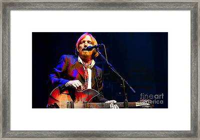 Tom Petty Framed Print