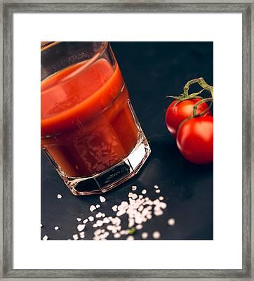 Tomato Juice Framed Print