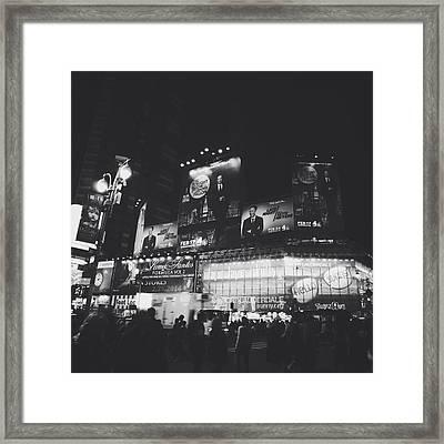 Tonight Late Framed Print by Natasha Marco