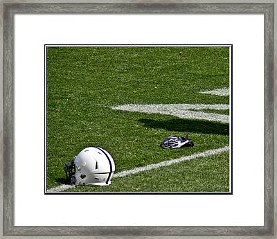 Tools Of The Game Framed Print