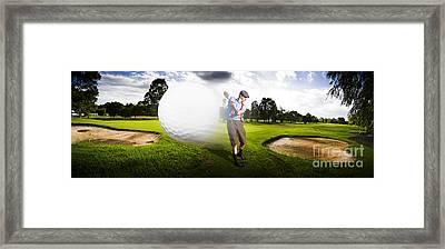 Top Flight Golf Framed Print by Jorgo Photography - Wall Art Gallery