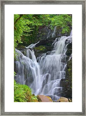 Torc Waterfall Killarney Ireland Framed Print