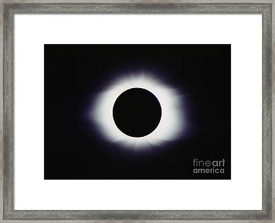 Total Solar Eclipse Framed Print by John Chumack