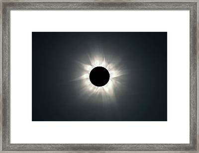 Total Solar Eclipse Framed Print by Martin Rietze