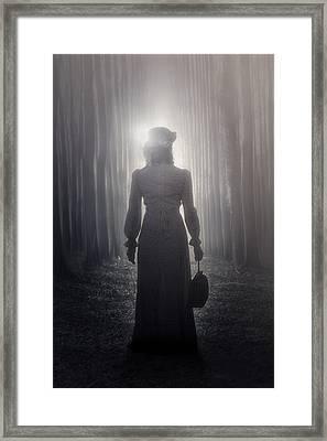Towards The Light Framed Print by Joana Kruse