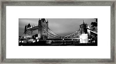 Tower Bridge, London, United Kingdom Framed Print