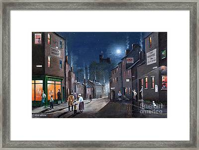 Tower Street Dudley C1930s Framed Print