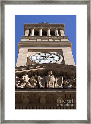 Tower Town Hall Framed Print by Jorgo Photography - Wall Art Gallery