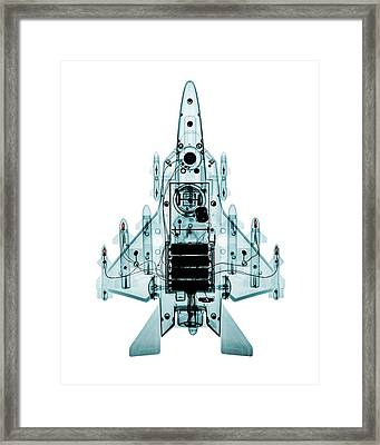 Toy Fighter Plane Framed Print