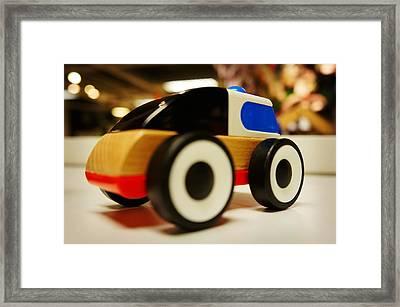Toy Vehicle Framed Print