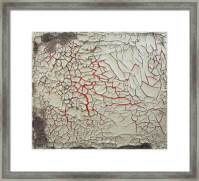 Traces Of A Lost War Framed Print by Richard Barone