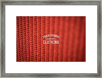 Traditional Clothing Framed Print by Mike Taylor
