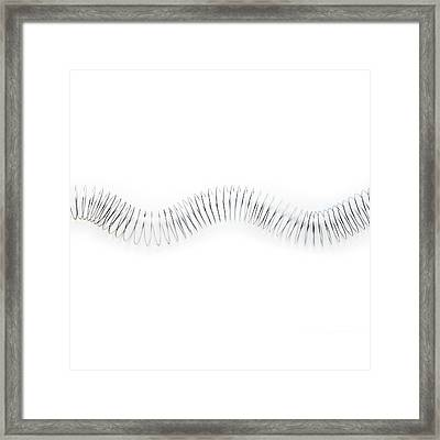 Transverse Wave Framed Print by Science Photo Library