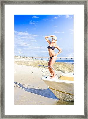 Travel Holiday Lookout Framed Print by Jorgo Photography - Wall Art Gallery
