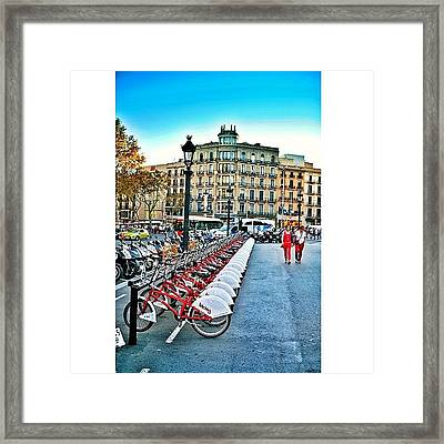 #travel #traveling #travelling Framed Print