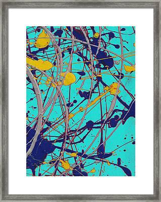 Traveling Fast Inside His Dreams Framed Print by Sir Josef - Social Critic -  Maha Art