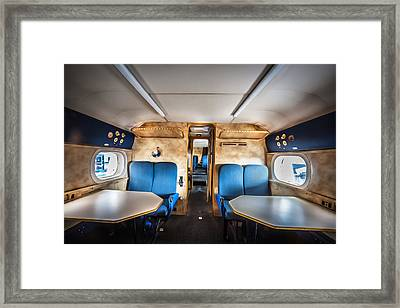 Traveling First Class 1944 Short Sunderland  Framed Print
