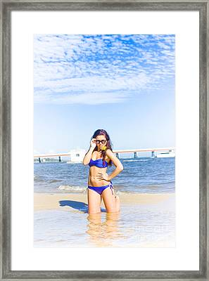 Traveling Tourist Framed Print by Jorgo Photography - Wall Art Gallery