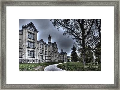 Traverse City State Mental Hospital Framed Print
