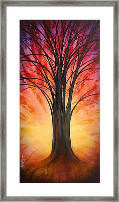 'tree Of Life' Framed Print by Michael Lang