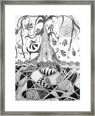 Tree Of Life Framed Print by Suzie Crawford