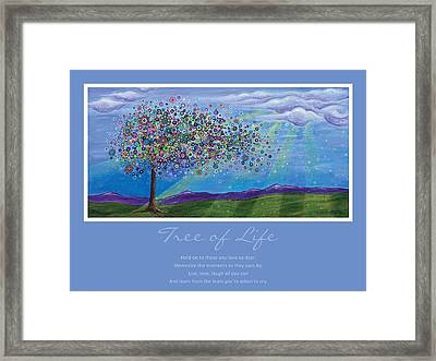 Tree Of Life Framed Print by Tanielle Childers