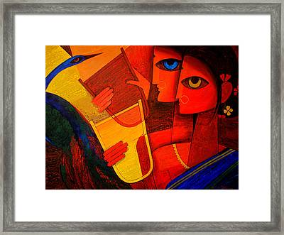 Tribal Women Framed Print by Jiaur Rahman