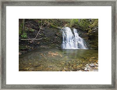 Blue Ravine Cascades - Benton New Hampshire  Framed Print by Erin Paul Donovan