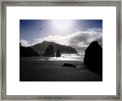 Trinidad State Beach Framed Print by Brett Pritchett