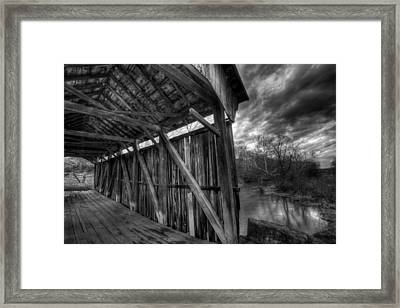 Trinity Road Covered Bridge Framed Print