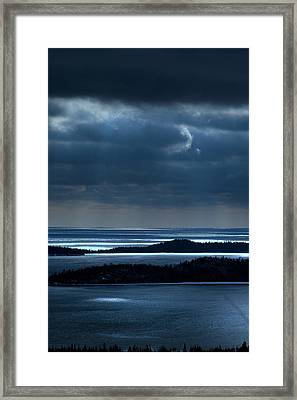Trip Off Memory Road Framed Print
