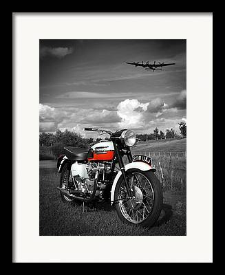 Motor Cycle Framed Prints