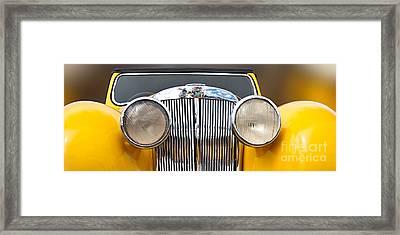 Triumph Roadster  1946 Framed Print