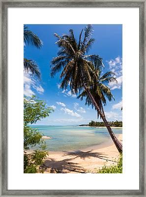 Tropical Beach Koh Samui Thailand Framed Print