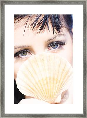 Tropical Beach Framed Print by Jorgo Photography - Wall Art Gallery