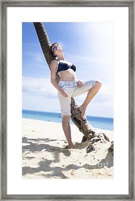 Tropical Island Paradise Framed Print by Jorgo Photography - Wall Art Gallery