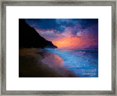 Tropical Paradise Framed Print