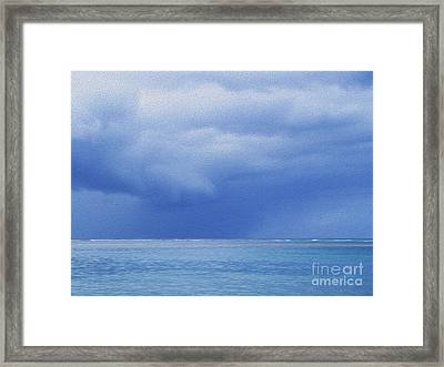 Tropical Storm Framed Print