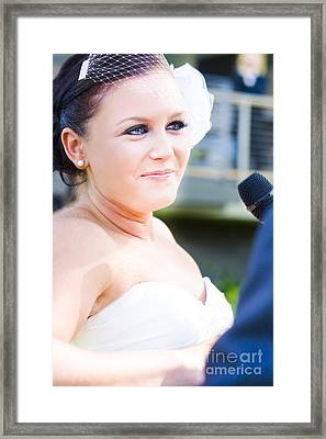True Love Through Tears Of Joy Framed Print