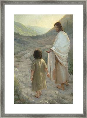 Trust In The Lord Framed Print by James L Johnson