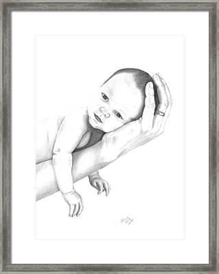 Trusting Innocence Framed Print by Patricia Hiltz