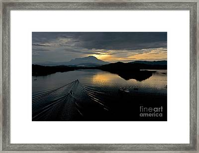 Tuaran River  Framed Print by Gary Bridger