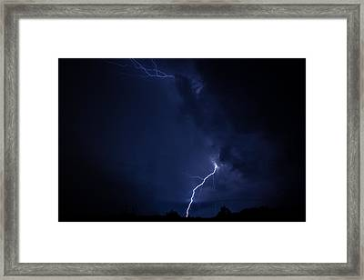 Tuesday Night Lights Framed Print