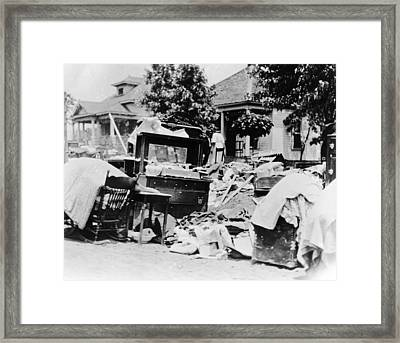 Tulsa Race Riot, 1921 Framed Print by Granger