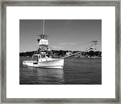 Tuna Boat Framed Print by Donnie Freeman