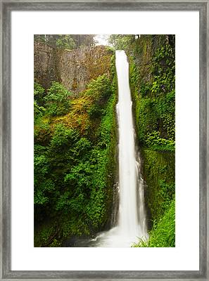 Tunnel Falls  Framed Print