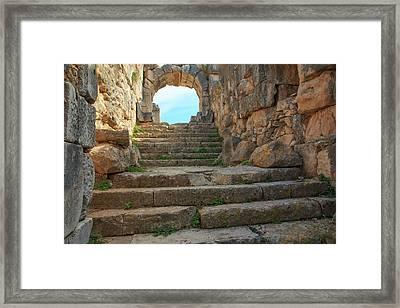 Turkey, West Coast Anatolia, Aydin Framed Print